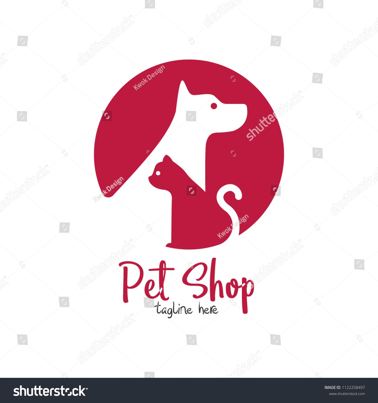 Pet Shop Pet House Pet Care Emblem Logo Design Template Veterinary Clinics And Animal Shelters Homeless Vector Animal Shelter Pet Care Logo Design Template