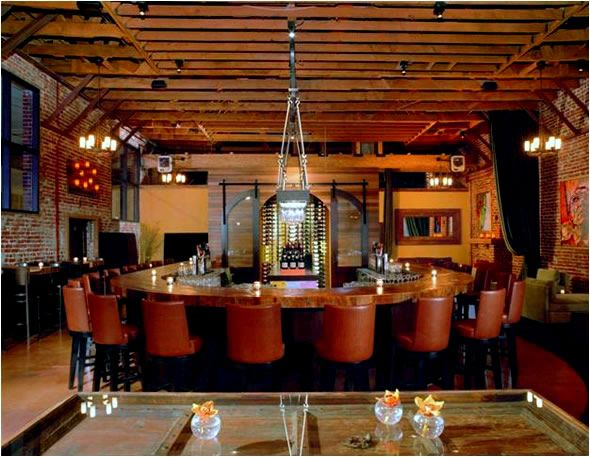 Clic Contemporary Bar Design Of District Soma Restaurant San