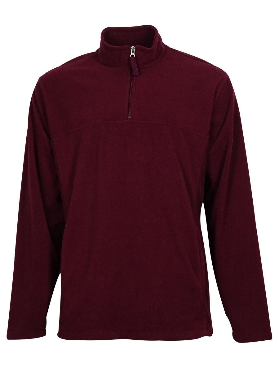 Club Room Men's Solid Color Fleece Sweater