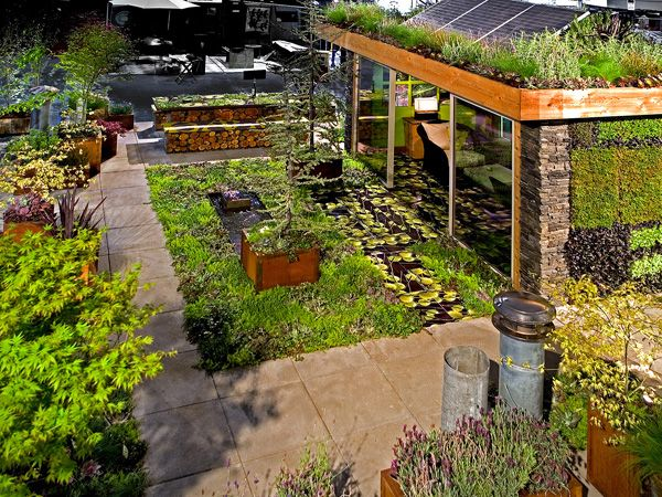 Roof+Garden+Designs | Roof Garden Overview Design Decorates Innovative Home  Designs
