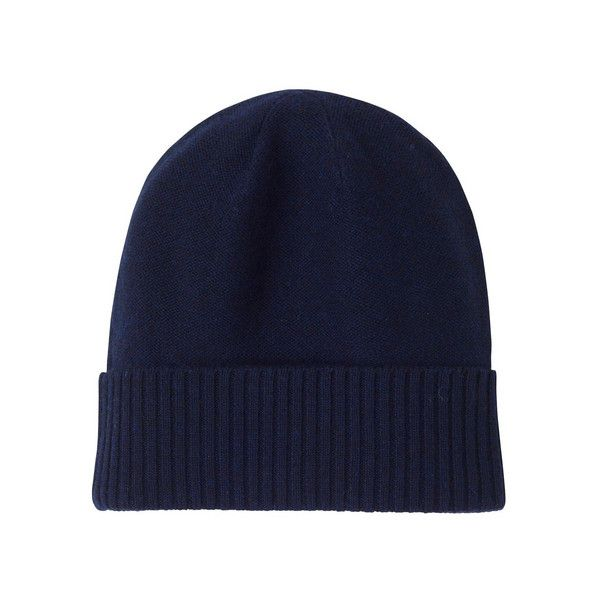 Merino wool knit cap ($70) found on Polyvore