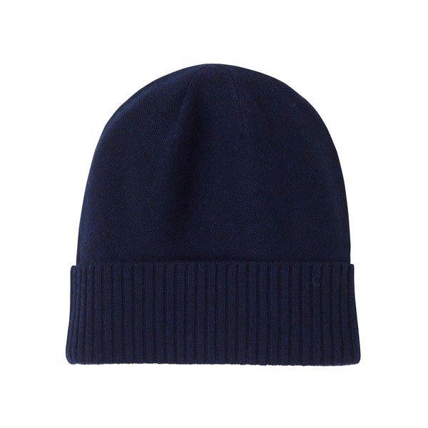 Merino wool knit cap ($70) found on Polyvore
