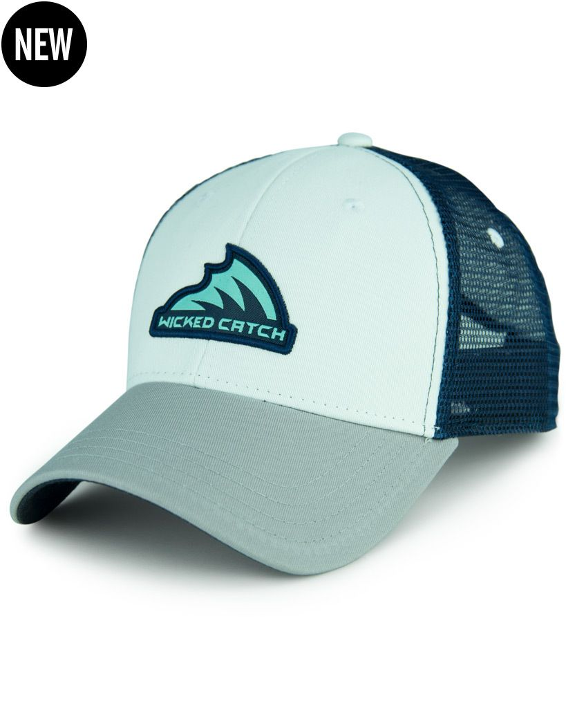 e6de6feb9eab4 Wicked Catch trucker fishing hats are extremely comfortable