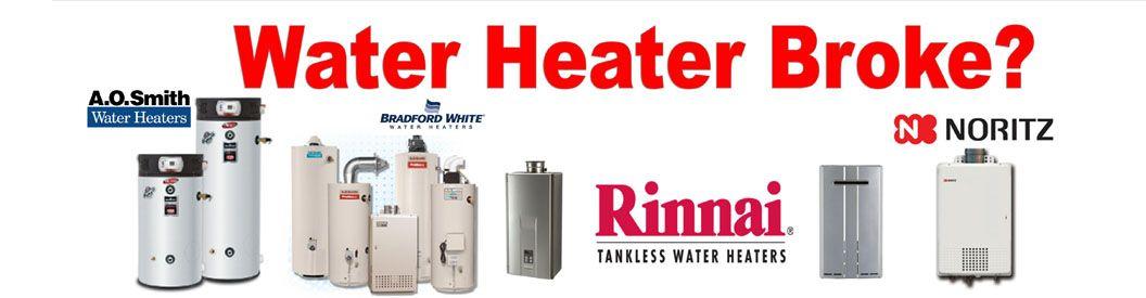 Certified Installer For Rinnai Noritz Takagi Bradford White Plumbercary Caryplumbing Plumbing Emergency Plumbing Companies Water Heater Repair