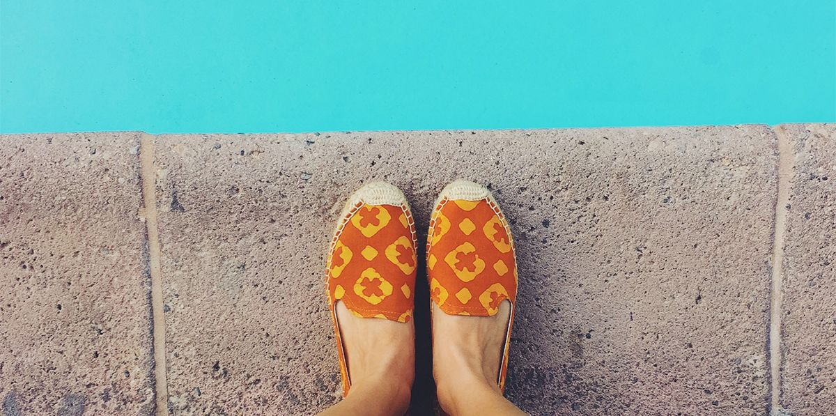 Blog - Best Pools in Los Angeles with @viewfromthetopp - Soludos Espadrilles