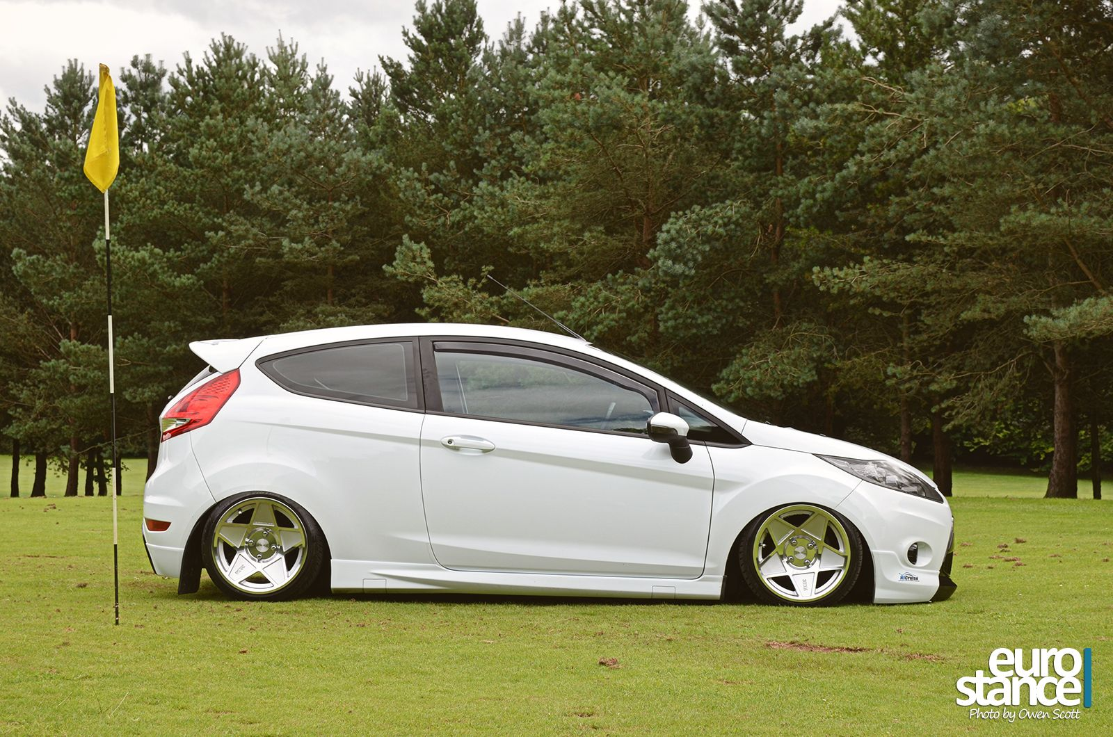 Stephen Chambers Mk7 Ford Fiesta On Hydraulics Stance Ford