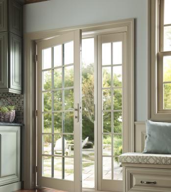 Tuscany Series Vinyl Patio Doors Milgard Windows Doors French Doors Exterior French Doors Patio Single Patio Door