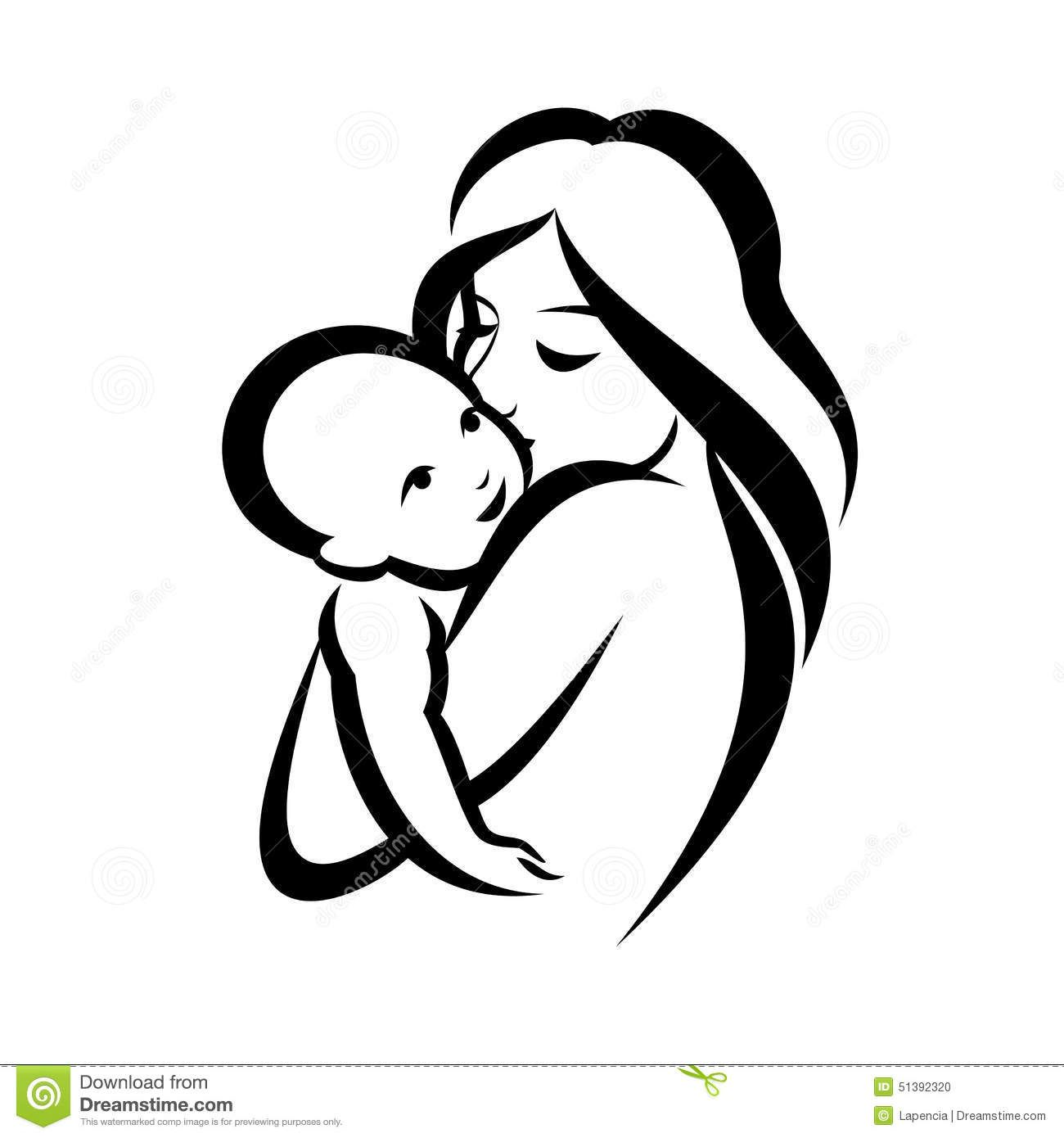Love The Mother Child Silhouette: Download From Over 55 Million