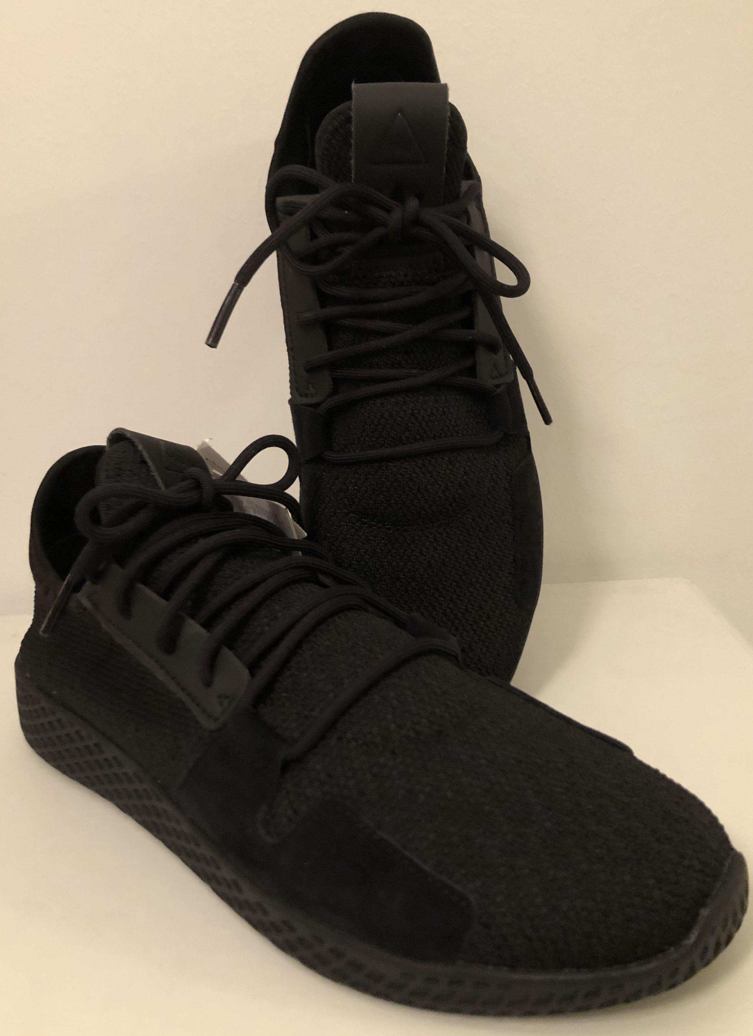 Adidas Pharrell Williams Tennis Hu V2 Black 2018 Schuhe