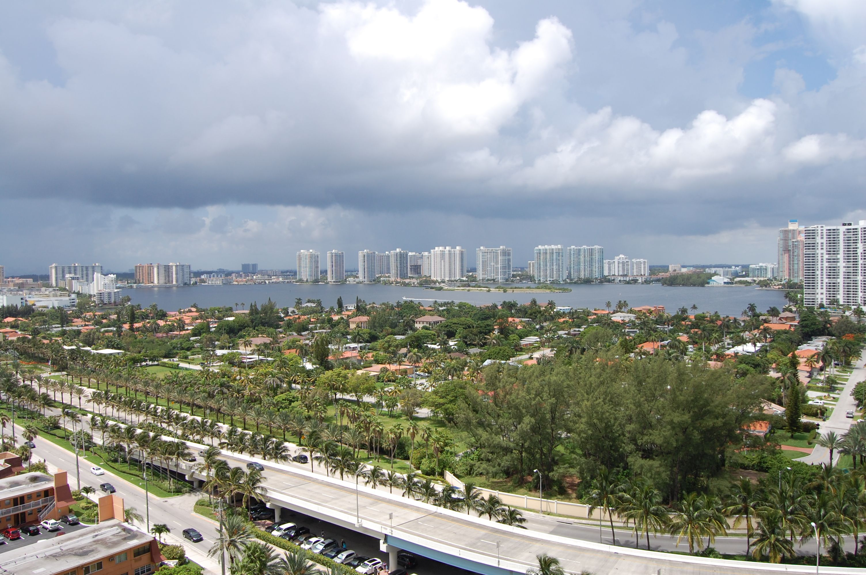 Unit 1604 - Ocean Two - Sunny Isles - Aventura  - Florida - West View