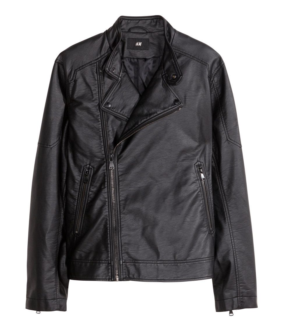 Because you just can't go wrong with a black fauxleather