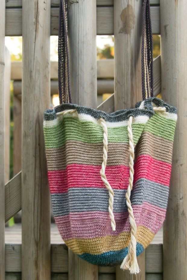 Beach Bag CAL (a creative being) | Diy tasche, Häkeltasche und Stricken