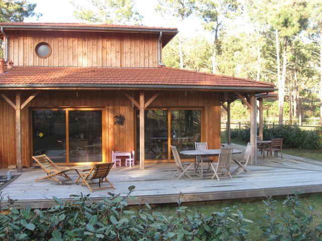 Maison landaise en bois recherche google maison for Recherche maison en bois