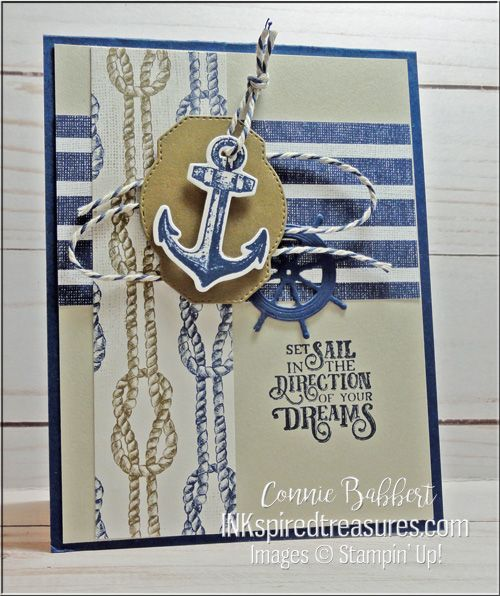 Saturday Blog Hop - Blue Morning Blue Day - Inkspired Treasures #ropeknots
