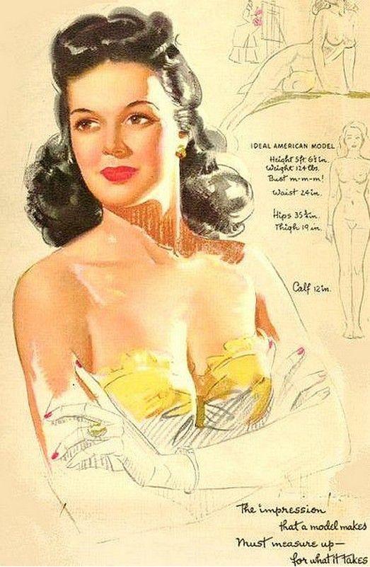 Vintage Calendar Girl Art : K o munson illustrations pinterest calendar girls