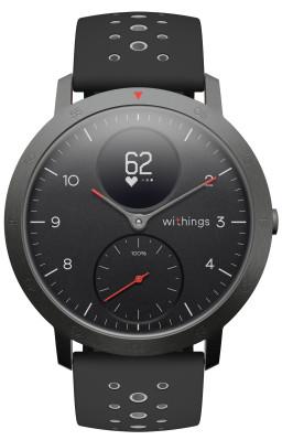 Multi Sport Hybrid Smartwatch Steel Hr Sport Withings