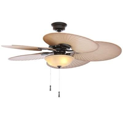 Hampton Bay Ceiling Fan Light Bulb Replacement Classy Hampton Bay Havana 48 Inoutdoor Natural Iron Ceiling Fan  Ceiling Design Inspiration