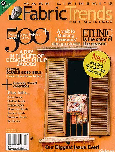 Mark Lipinski's Fabric Trends Magazine