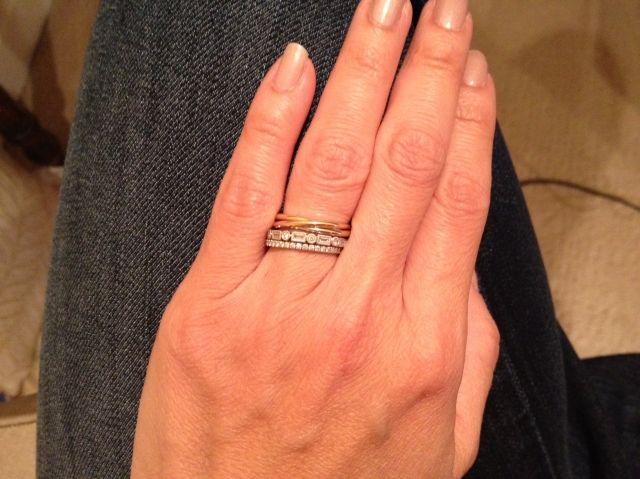 My Cartier Trinity Cartier Love Ring Three Stone Rings