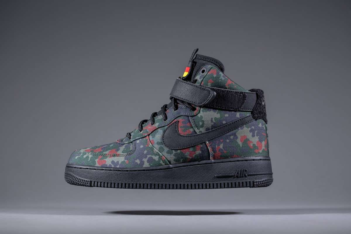 Stand Out And Blend In With The Nike Air Force 1 High  Country Camo ... ed1516b689
