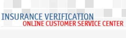 My Insurance Verification Is An Online Customer Service Center