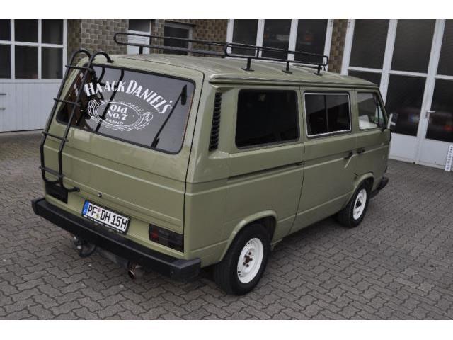 volkswagen t3 multivan oldtimer mit h kennzeichen t v 06. Black Bedroom Furniture Sets. Home Design Ideas