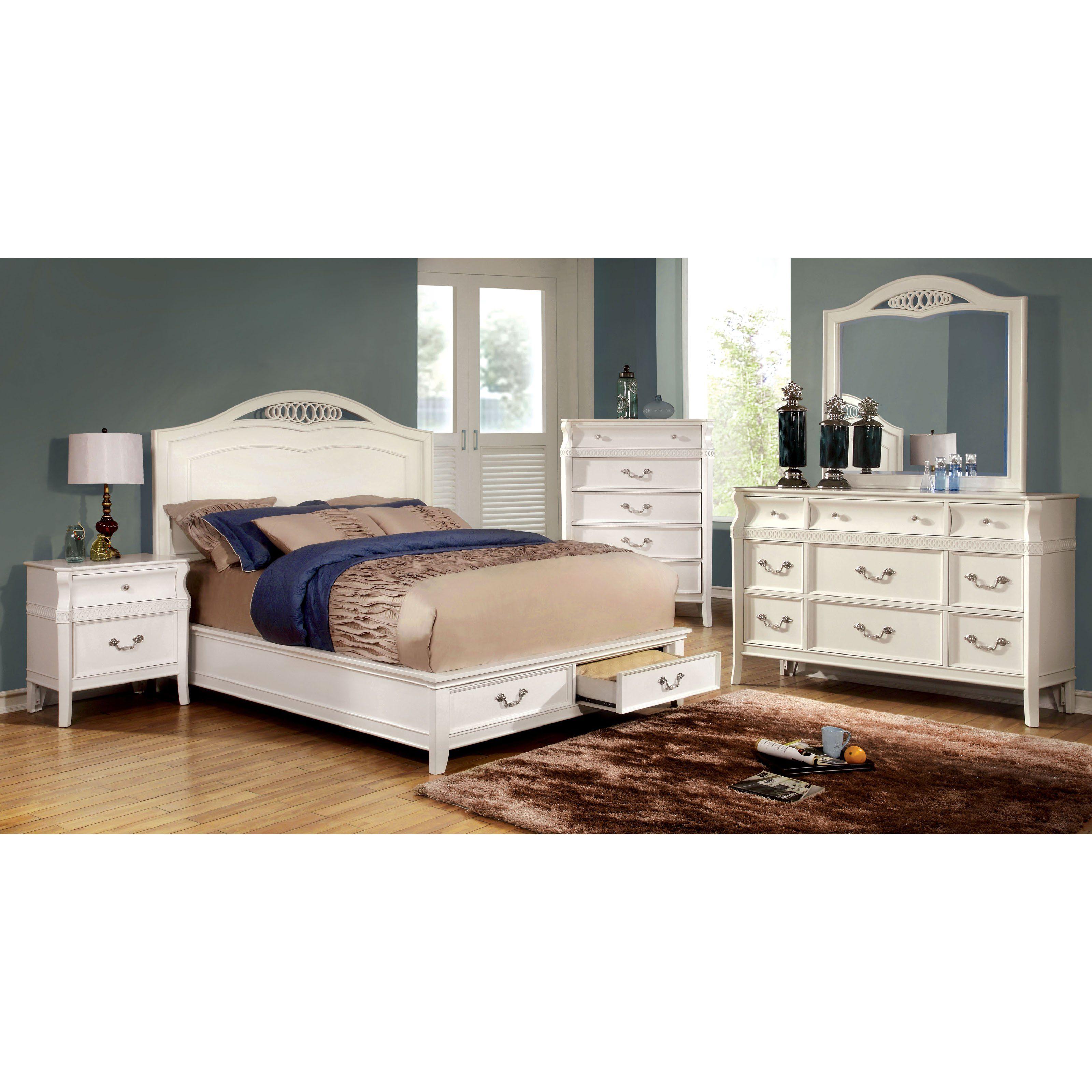 Room Furniture of America Troxler Storage Panel