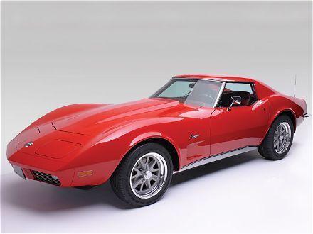 Chevrolet Corvette 1973 Vintage Car Chevrolet Corvette Corvette Red Corvette