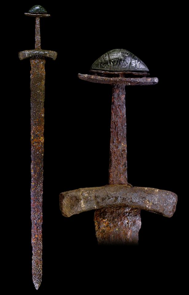myArmoury.com A Fine Viking Sword with Bronze Pommel dfe363db52
