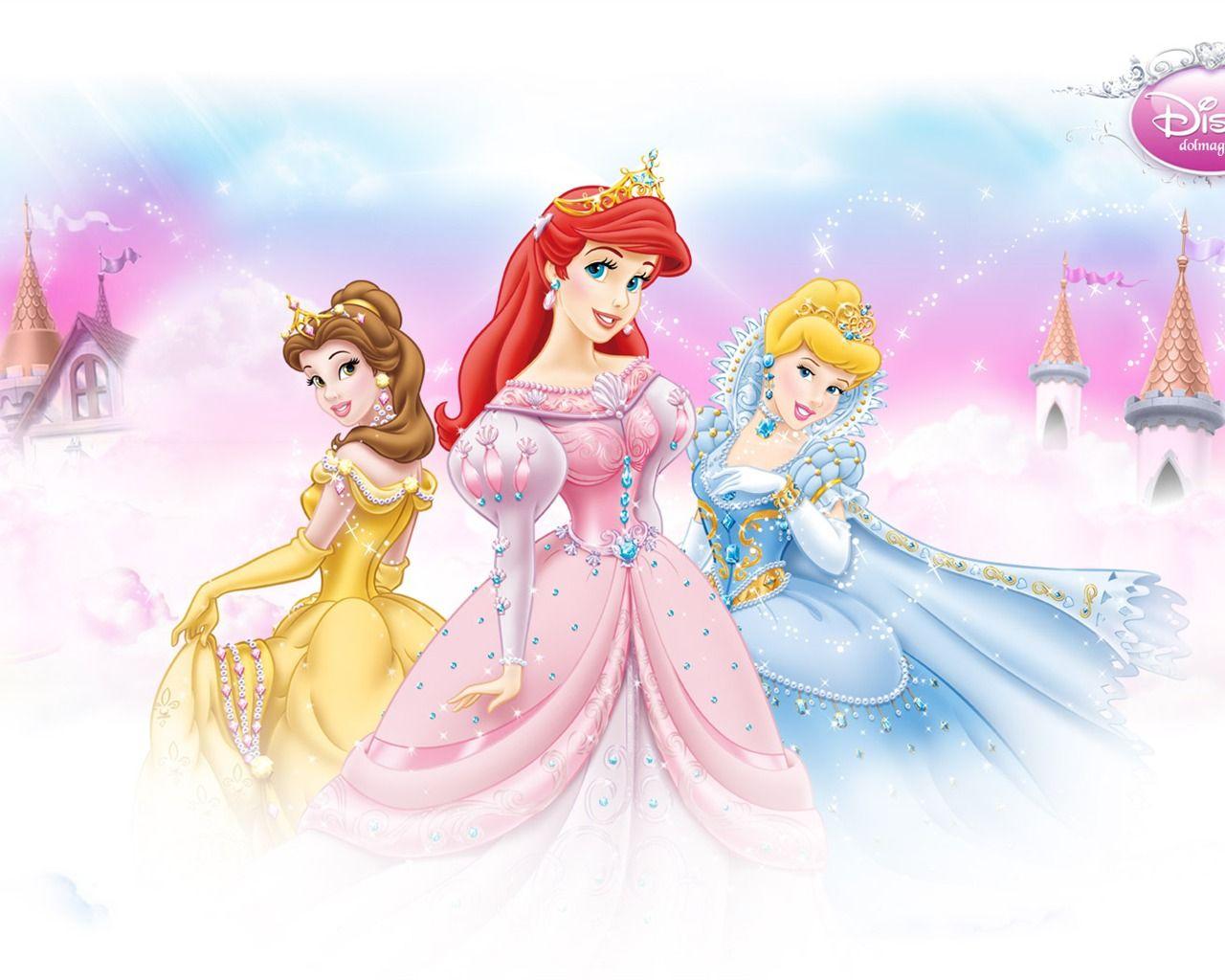 Cute Cartoon Princess | princess disney cartoon wallpaper ...
