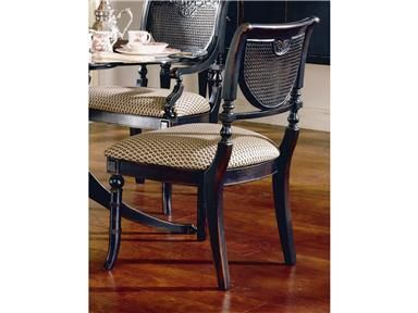 Largo International Heritage Dining Room Cane Side Chair Side