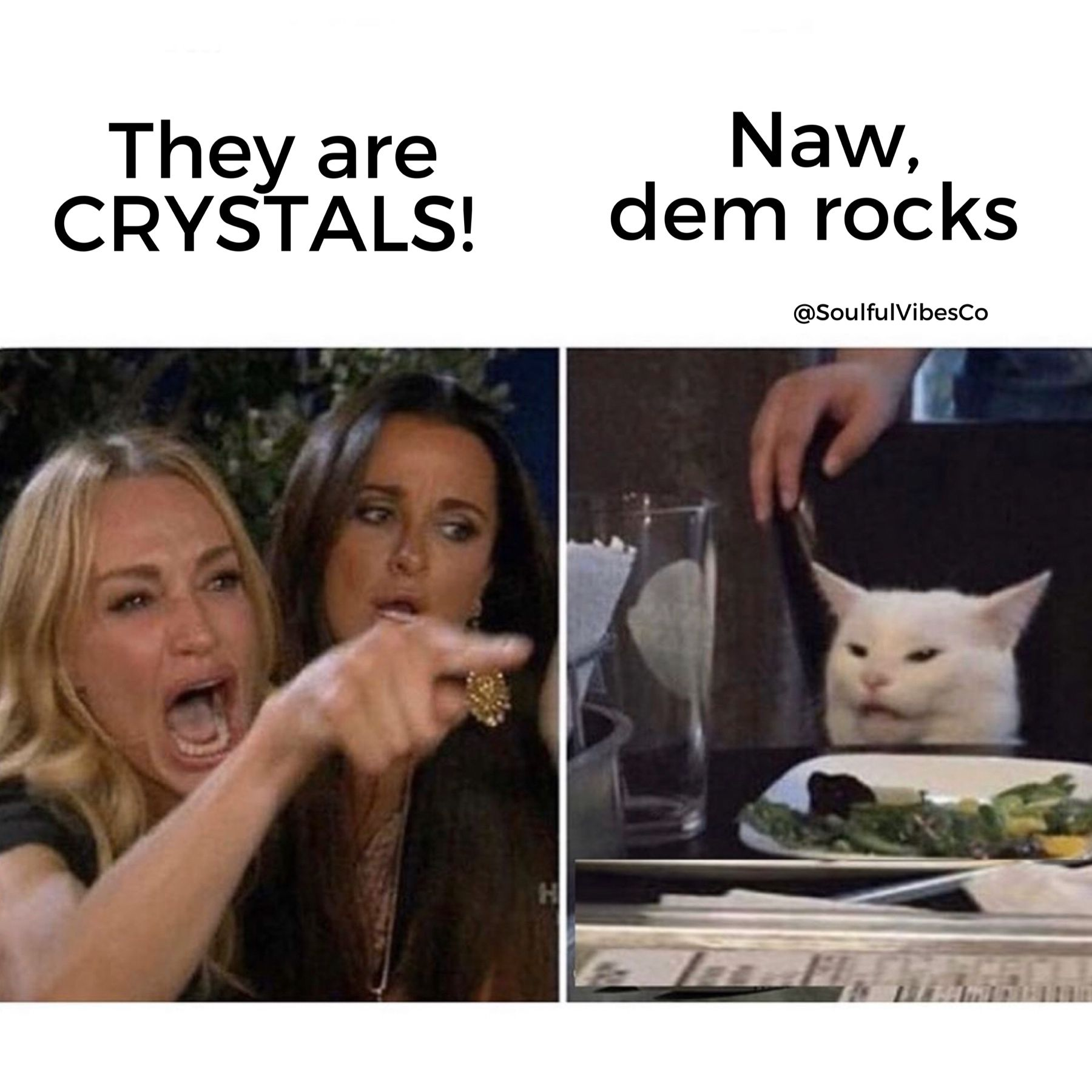 Every crystal lover knows at least 2 people that refuse to