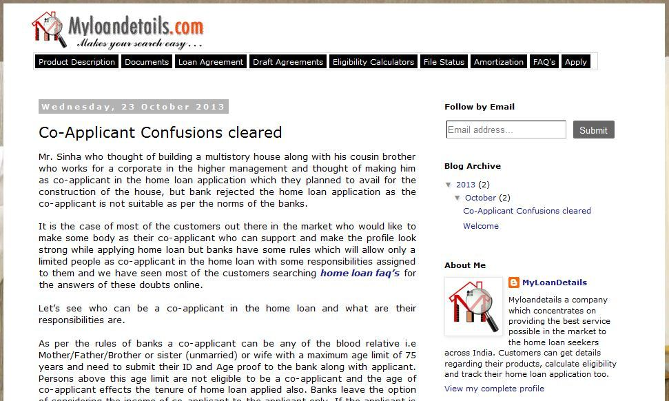 CoApplicant In Home Loan Have Equal Responsibilities As Applicant