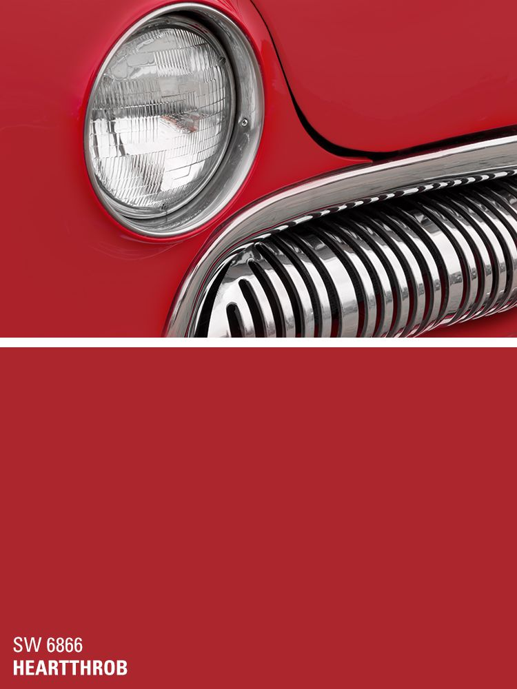 Sherwin Williams Red Paint Color Heartthrob Sw 6866