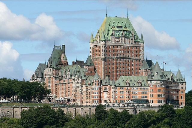 The Chateau Frontenac Hotel In Quebec City Quebec City Quebec City Canada Frontenac