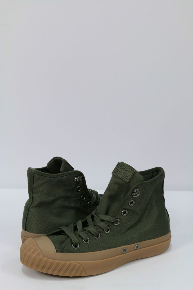 956a686ed7a4 Converse All Star Men s Sneakers Military Army Shoes Green Trainers ...