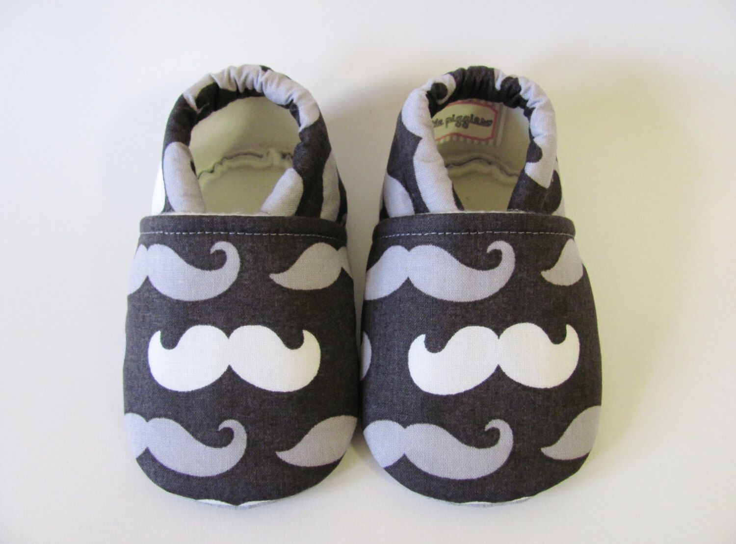 Mustache Baby Boy Shoes by TheWeeLittlePiggies on Etsy https://www.etsy.com/listing/192823145/mustache-baby-boy-shoes