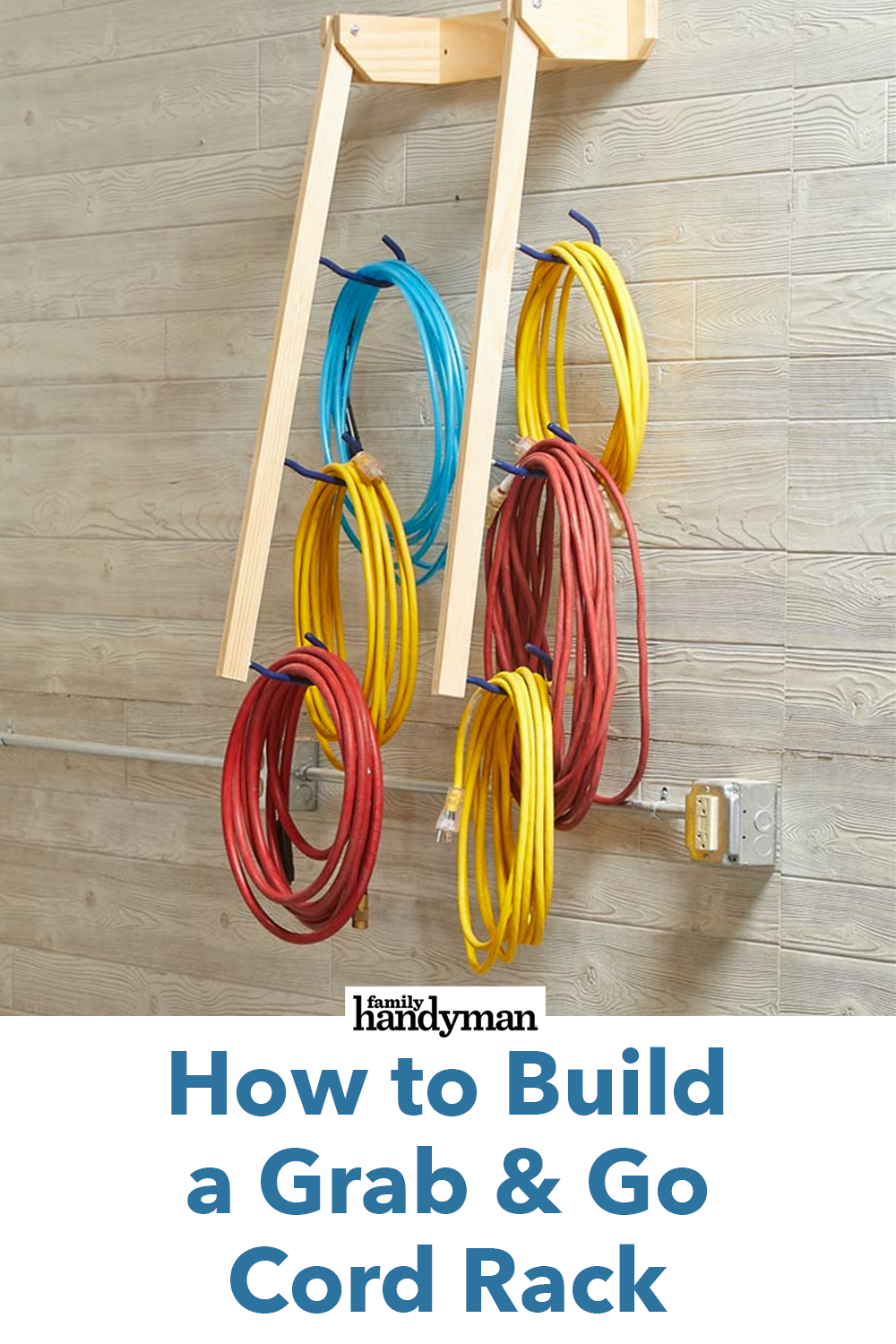 How to Build a Grab & Go Cord Rack How to Build a