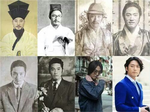 Fated To Love You :: Gun's ancestors. Beat that genes! This gave me a good laugh!!