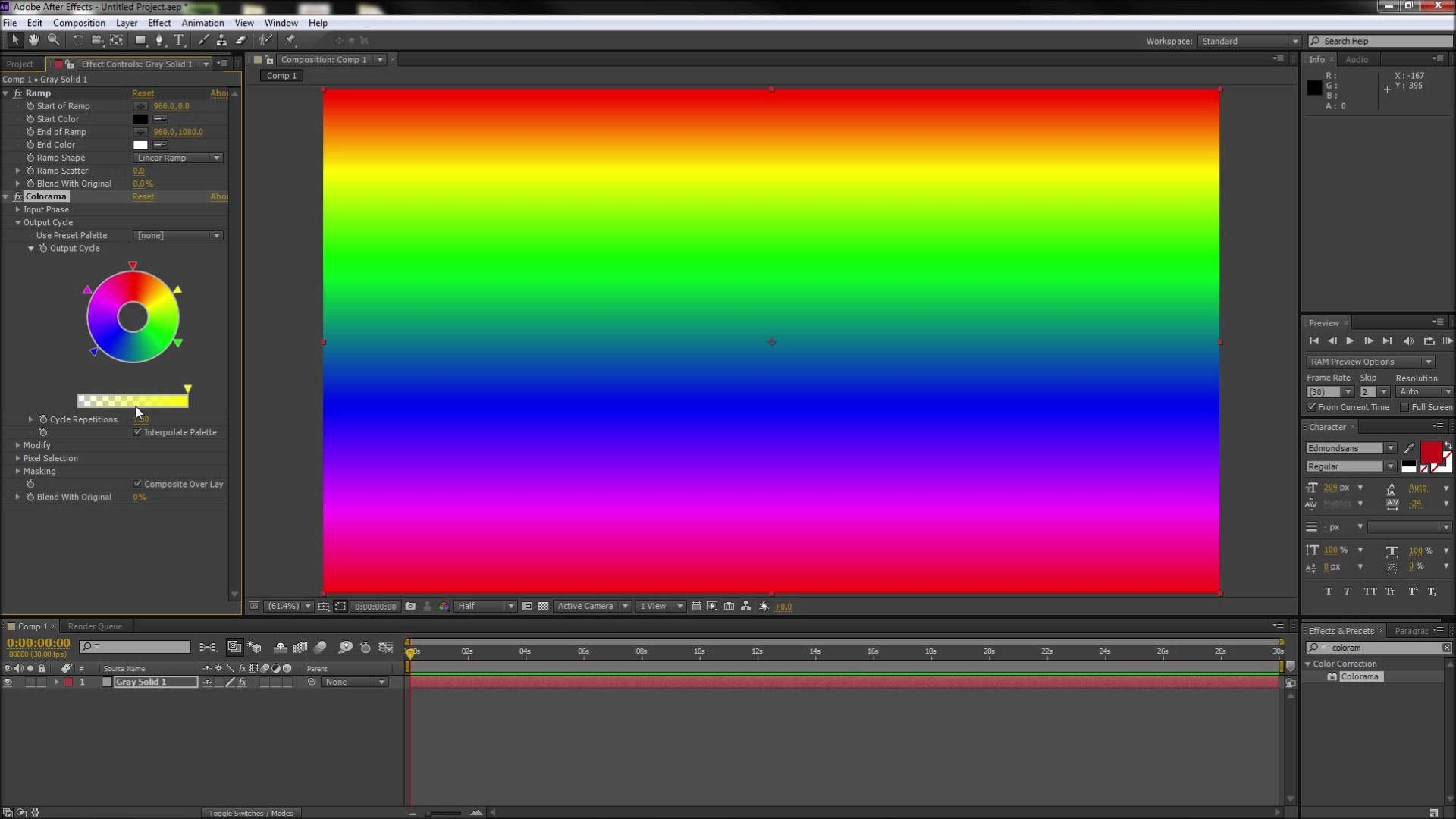 After Effects Tutorial Make Multi Color Gradients Hd After Effect Tutorial After Effects Gradient Color
