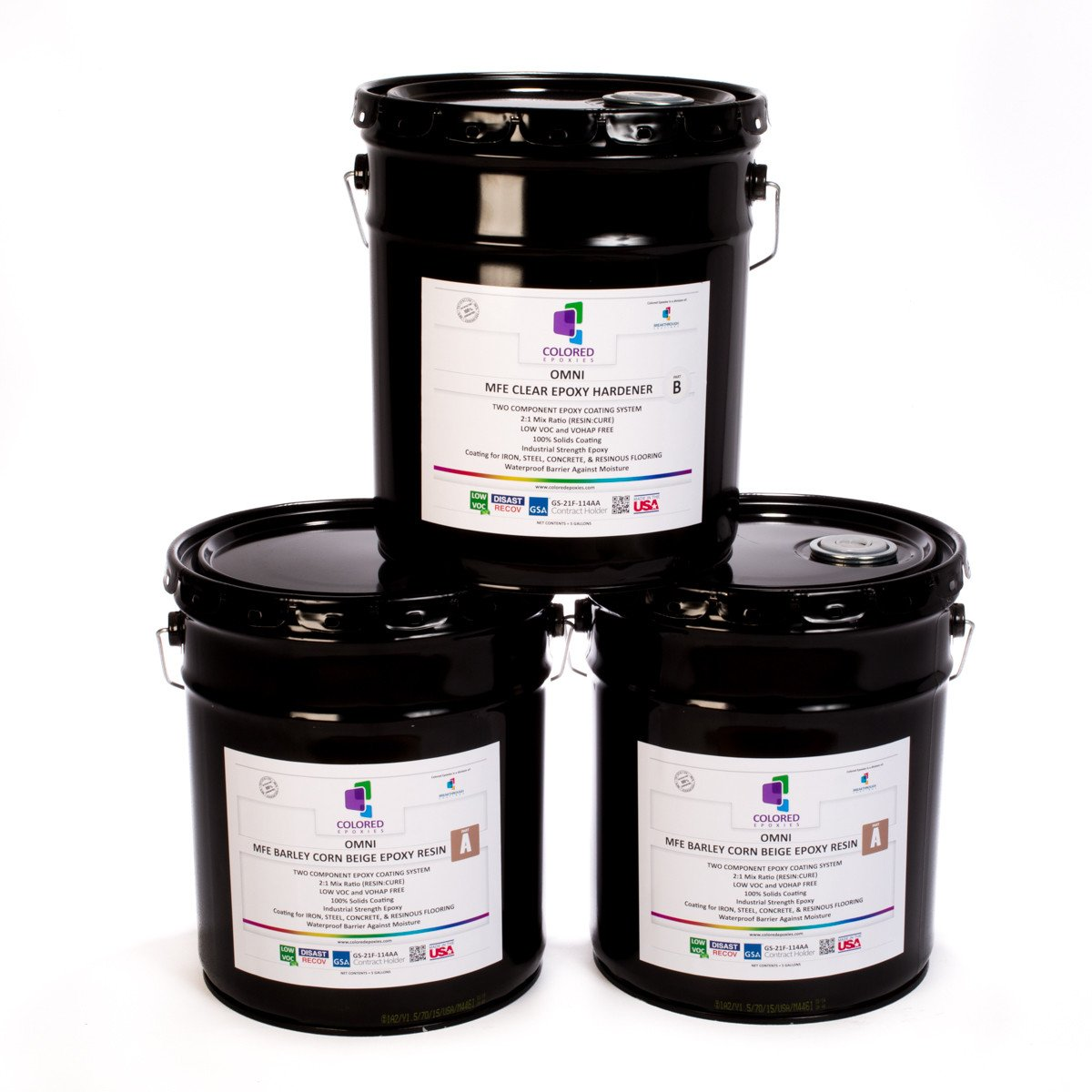 Colored Epoxies is a two component super flexible epoxy