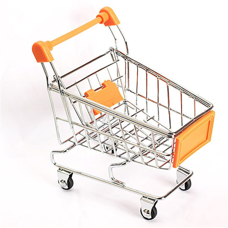 Mini Supermarket Handcart Shopping Utility Cart Mode Storage Funny Folding Shopping Cart With Wh Folding Shopping Cart Shopping Cart Pretend Play Grocery Store
