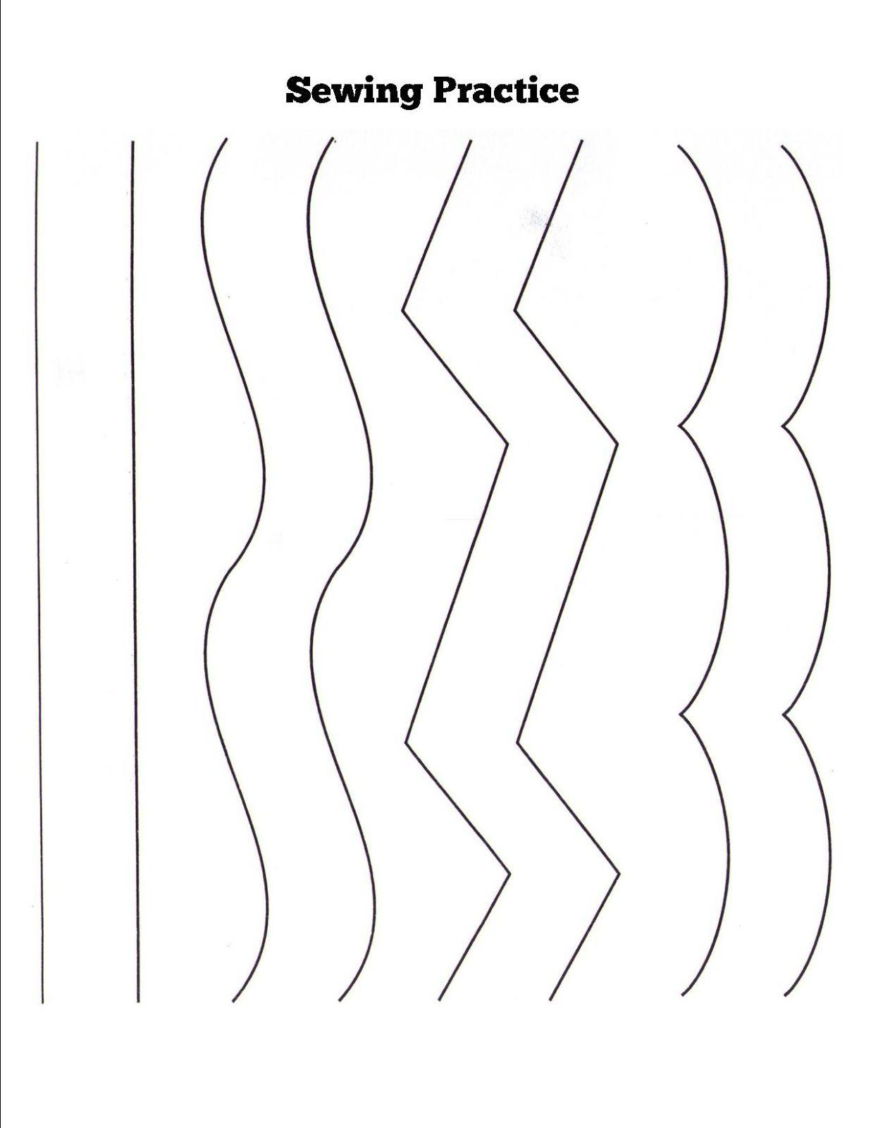 Sewing Practice Paper Photo 1 236 1 600 Pixels