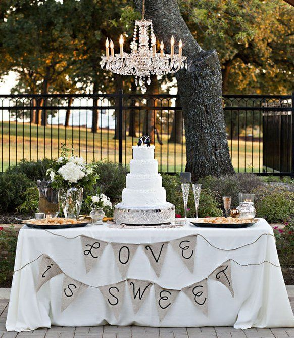 Ideal Awesome Table Decoration For Wedding Cake