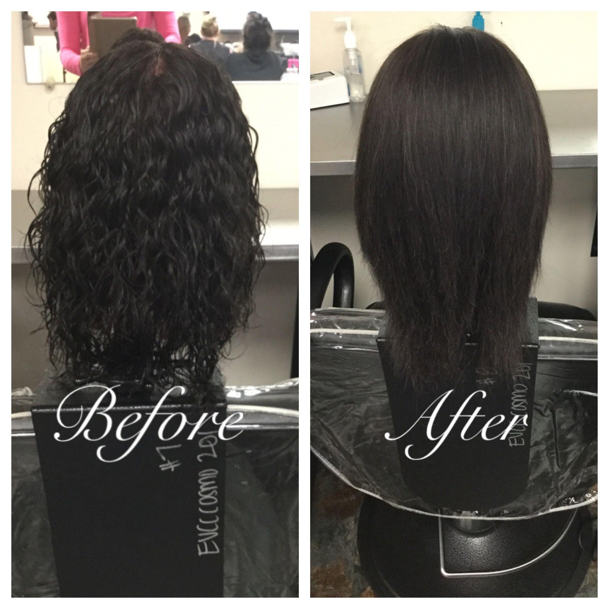 Magic straight perm vs keratin - Chemically Relaxed Hair