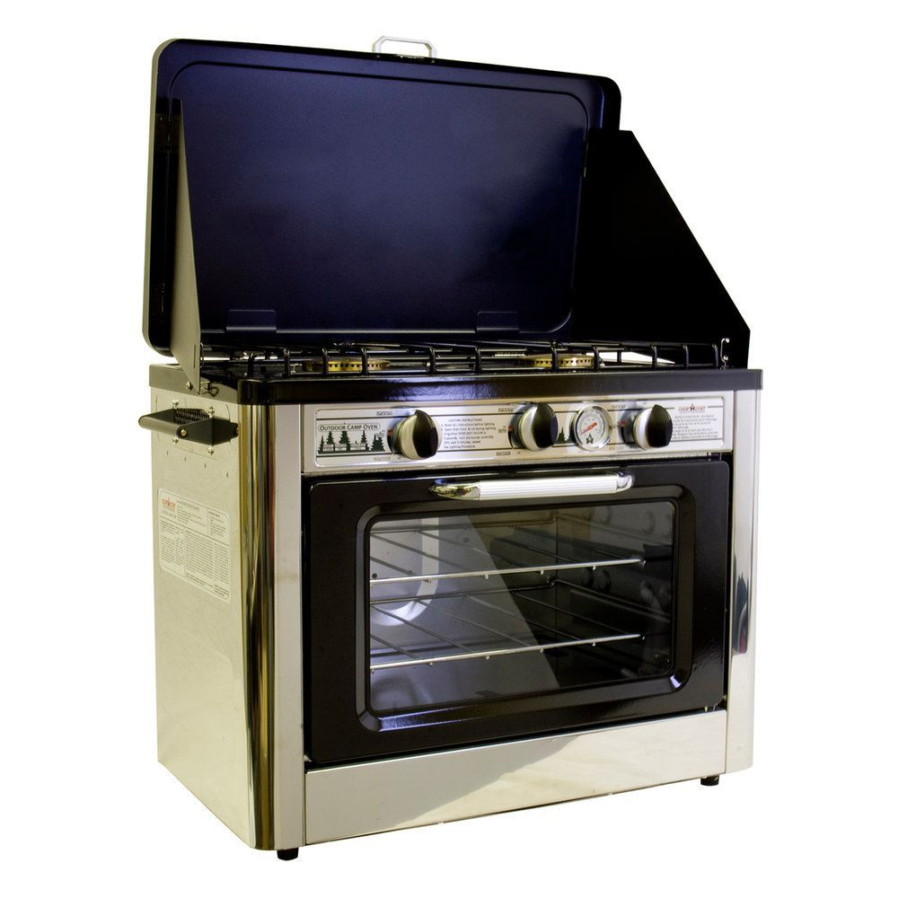 Rv Ranges Cooktops Camping World >> Camp Chef Deluxe Outdoor Oven Products Camping Oven Camping