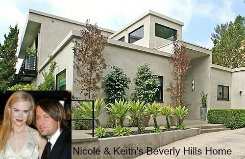 Celebrity Houses And Real Estate Celebrity Houses Beverly Hills Houses Nicole Kidman Keith Urban