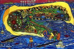 painting by Barbara Knels, Borkum