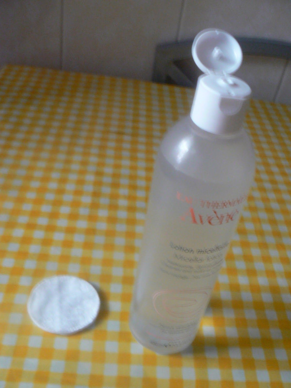 Current makeup remover Avéne's Micellar Water