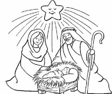 Dibujos Para Colorear Del Niño Jesús Dibujos De Jesús Christmas